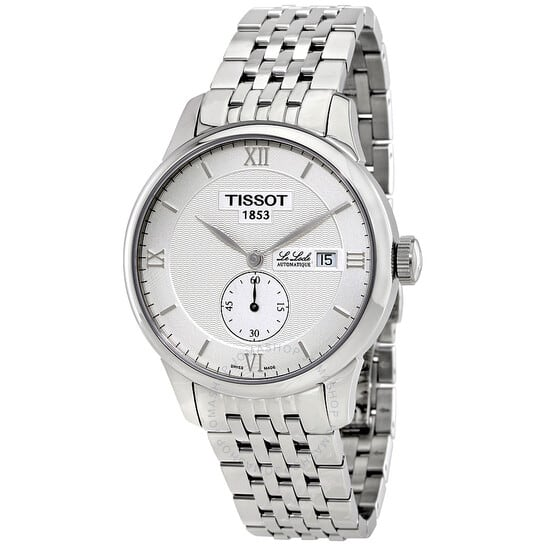 TISSOT Le Locle Automatic Silver Dial Men's Watch T006.428.11.038.01 $298.99 at Jomashop