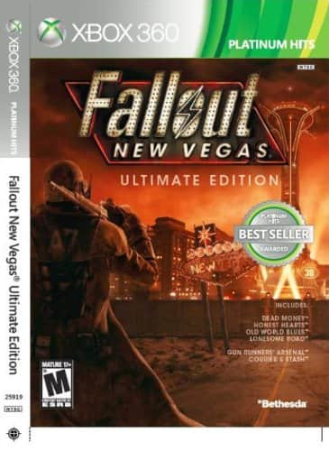 Fallout New Vegas: Ultimate Edition  - Xbox One (and 360) $11.59 Amazon