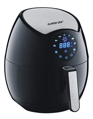 GoWISE USA GW22621 4th Generation Electric Air Fryer, Black, 3.7 QT, 1400W  $75.15 FS Amazon Prime