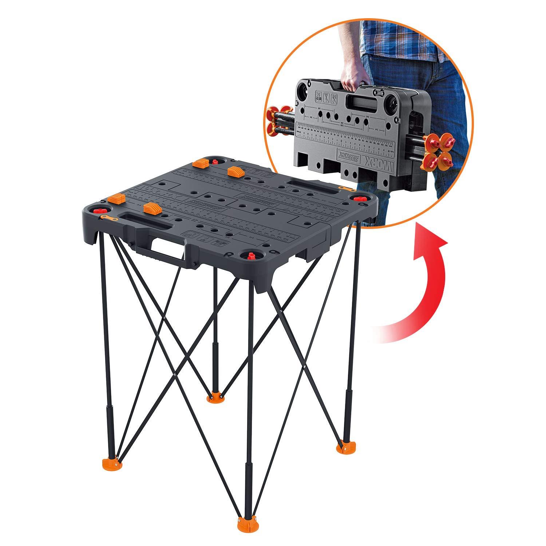 WORX WX066 Sidekick Portable Work Table $31.58 PRIME free shipping Amazon