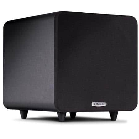 "Polk Audio PSW 111 8"" Compact Powered Subwoofer in Black $169.94"