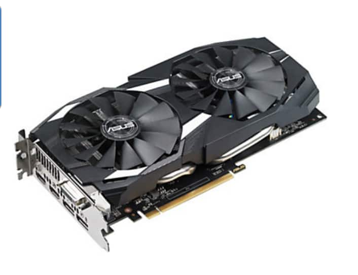 ASUS DUAL RADEON RX 580 8GB for $260