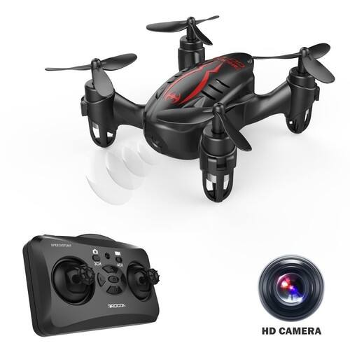 RC Quadcopter Micro Mini Drone with 720P HD Camera, Headless Mode, Easy to Trim, 360 Degree Flip $29.99 @Amazon +FS