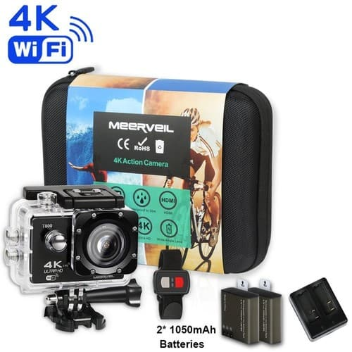 170 Degree Wide Angle Lense 4K WIFI Action Camera $47.99 + FS
