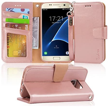 the latest bf21c 34ccb Samsung Galaxy Case S7,S8,S8 plus, Note 8 Arae wallet Case with ID ...