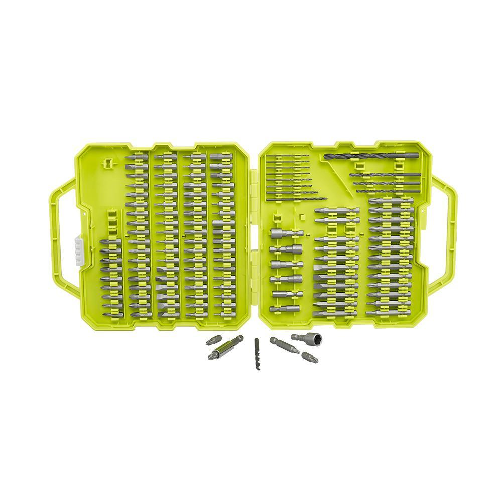 Ryobi Drill and Drive Bit Set (130-Piece) - Home Depot - $9.98