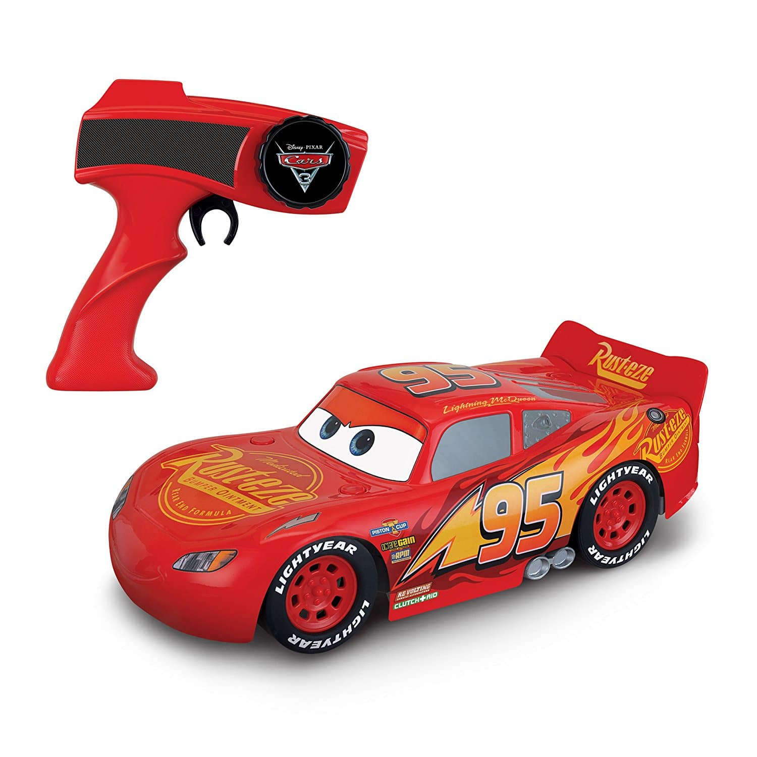 Cars Turbo Charge Lightning McQueen Vehicle Prime $21.48