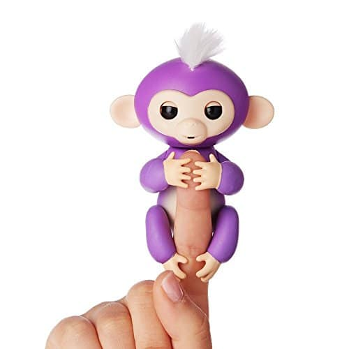 Fingerlings - Interactive Baby Monkey - Mia (Purple with White Hair) $14.99