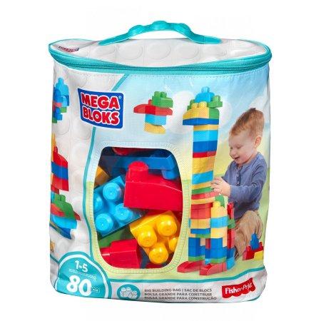 Mega Bloks Big Building Bag 80 Piece Building Set Amazon Prime  Walmart Free Pickup $9.97