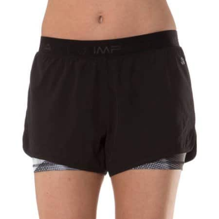 Impact by Jillian Michaels Women's Stretch Woven Short with Built-in Compression Short Free Pickup $3