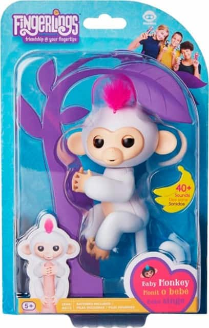 WowWee - Fingerlings Baby Monkeys Sophie $14.99