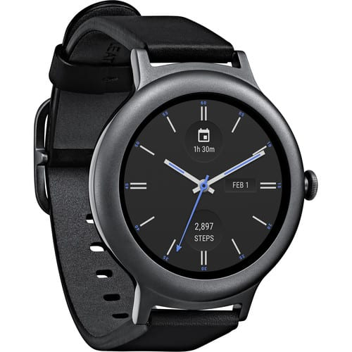 LG Watch Style Android Smartwatch in Titanium  FS $99.99