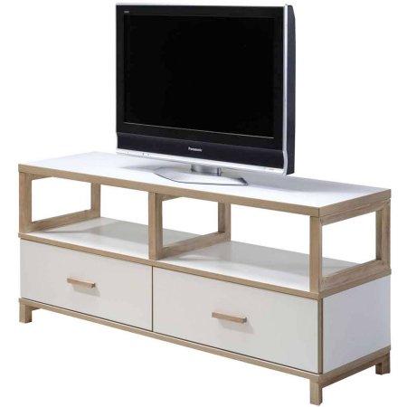 Imagio Home's Lifestyles Studio Living Collection Wood Entertainment Unit, White FS $75