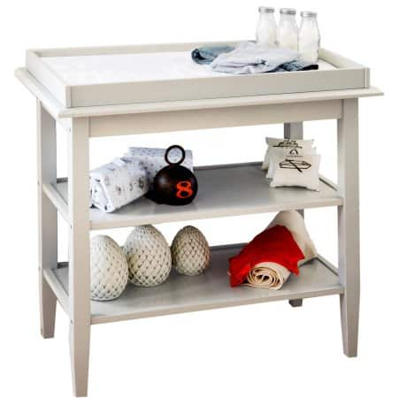 Lolly and Me Universal Open Shelf Changing Table, White FS $40