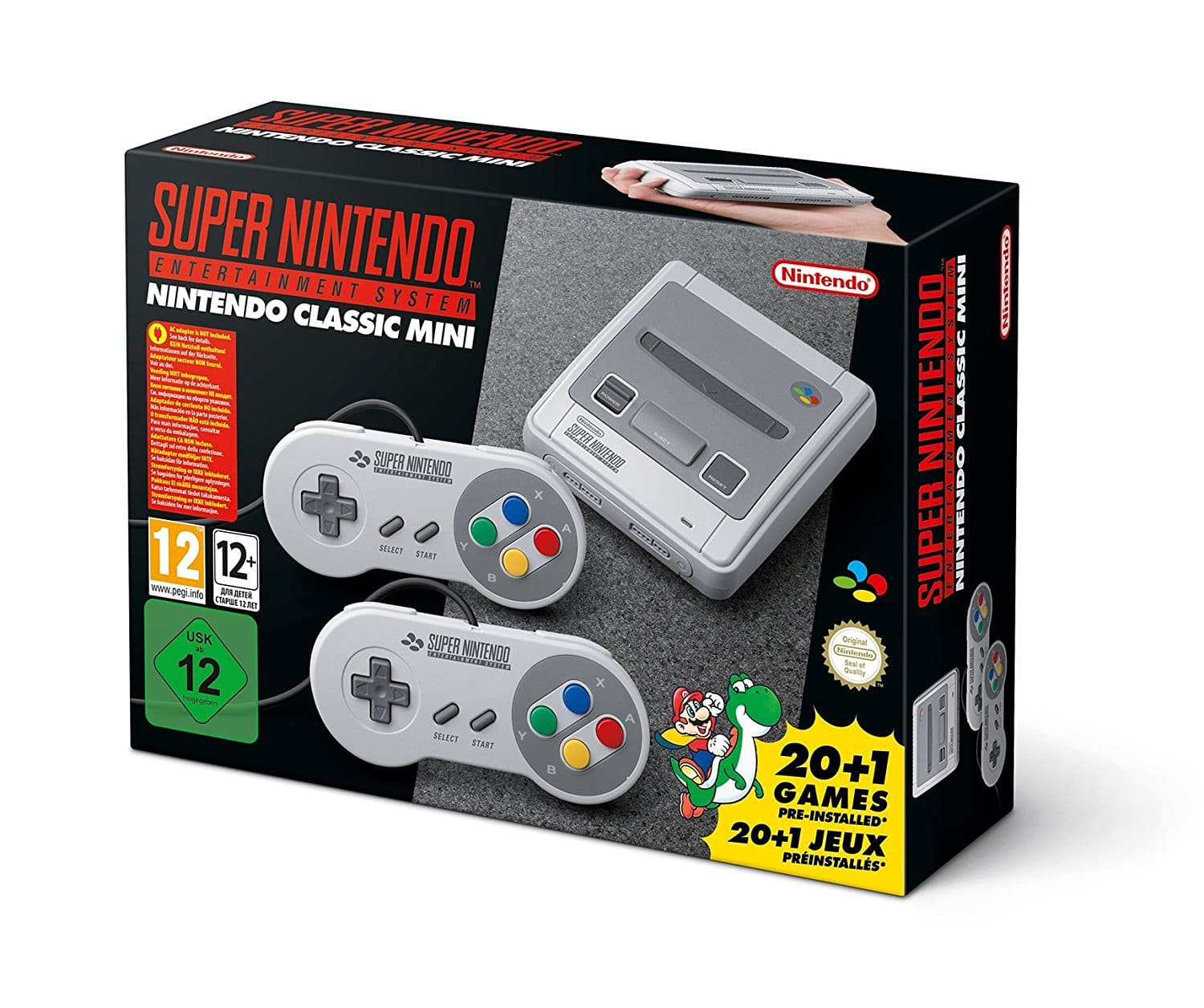 Nintendo Classic Mini: Super Nintendo Entertainment System SNES Amazon UK $99.24