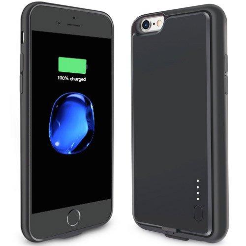 OCYCLONE iPhone 6 Plus/ 6s Plus 2800mAh Silicone Charger Case Prime $9.76