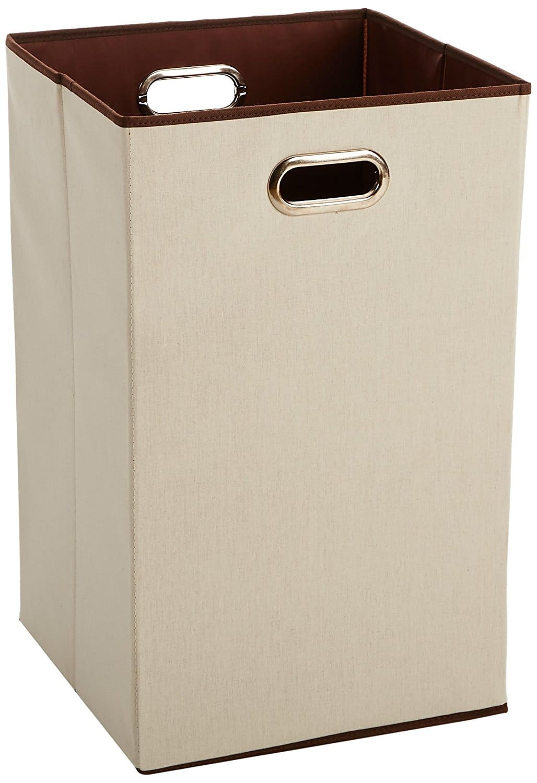 AmazonBasics Foldable Laundry Hamper Prime $9.08