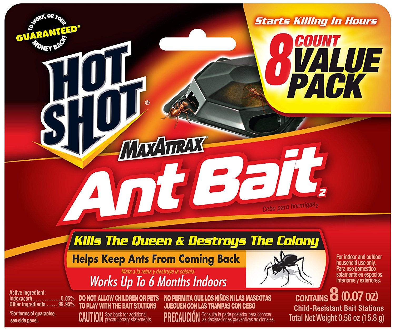 Hot Shot MaxAttrax Ant Bait2 (HG-2048) (8 ct) Prime $2