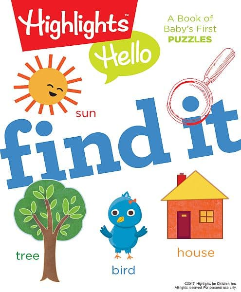 Highlights For Kids Hidden Picture Activity Books Page 5
