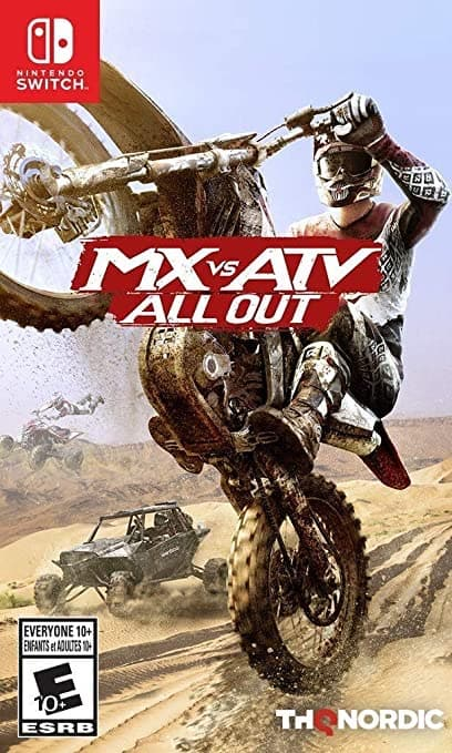 MX vs ATV All Out - Switch - Free Pickup - Gamestop - Best Price Ever $13