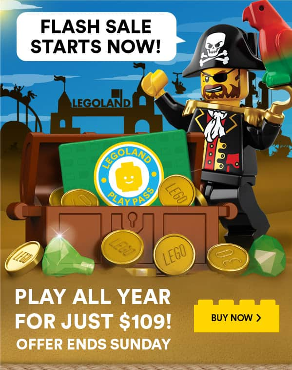LEGOLAND California Play Pass for $109