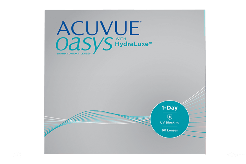 Acuvue Oasys 1-day 90 pack $41.38