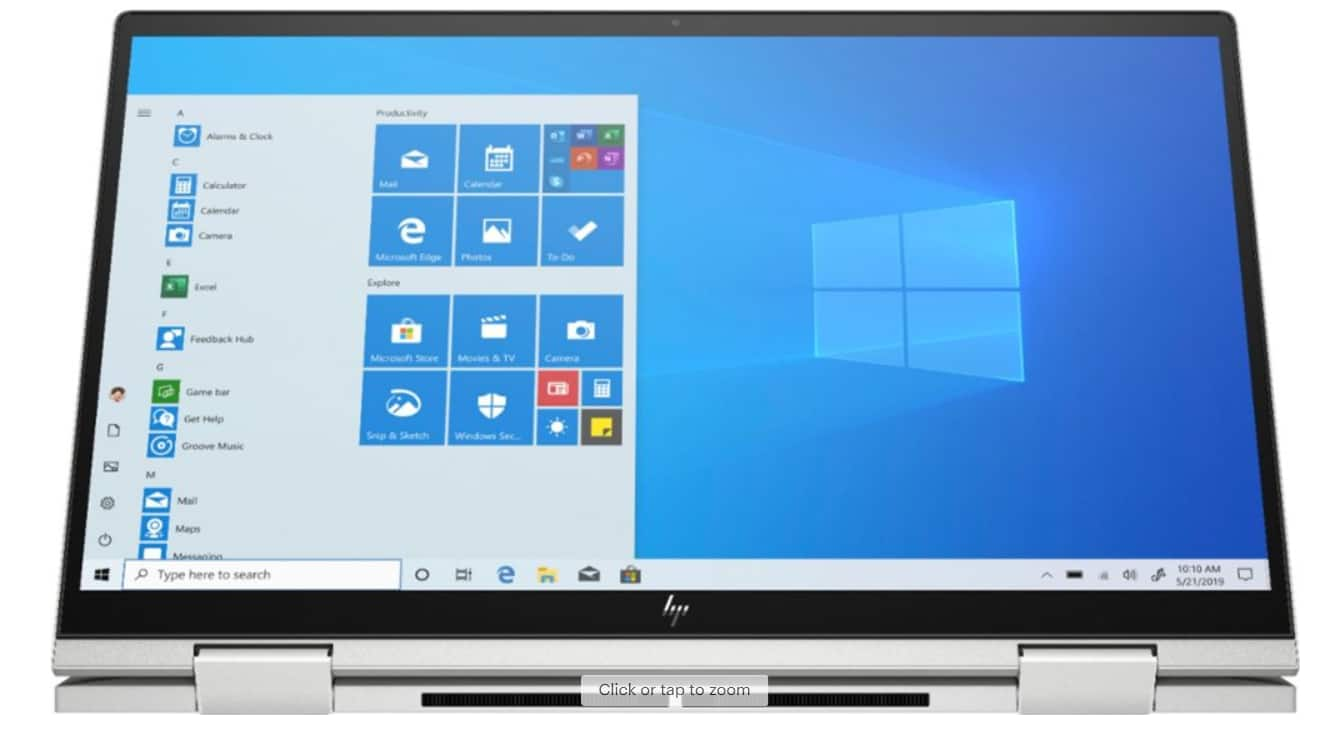 HP Envy x360 2-in-1 15.6 in Touch-Screen Laptop - Intel Core i7 - 12GB Memory - 512GB SSD + 32GB Optane $799.99
