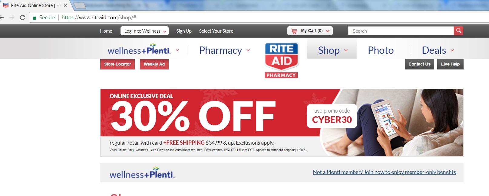 Online exclusive deal - 30% off