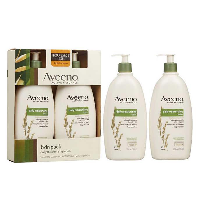 Aveeno Daily Moisturizing Lotion 20 oz., 2-pack $11.49