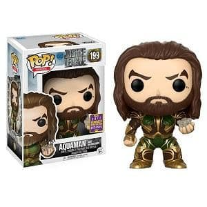 POP Movies: DC - Justice League - Aquaman with Mother Box Summer Convention Exclusive $3.48