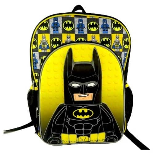 TARGET *in-store YMMV* LEGO® Batman Molded Kids' Backpack with Printed Straps & Reflective Strips $5.38