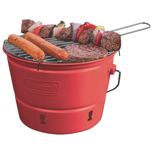 *LOWE'S YMMV* Coleman 82-sq in Red Portable Charcoal Grill $2