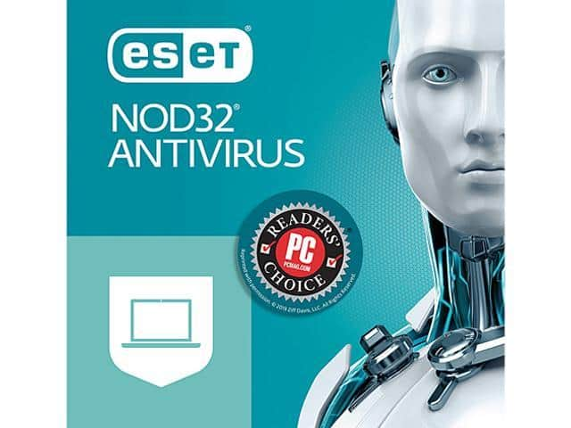 ESET NOD32 Antivirus 2019 (download) - 3 Devices / 1 Year $20 @Newegg