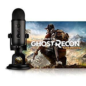 Blue Yeti Tom Clancy Streamer Bundle Ghost Recon Wildlands Prime Shipping $75.99