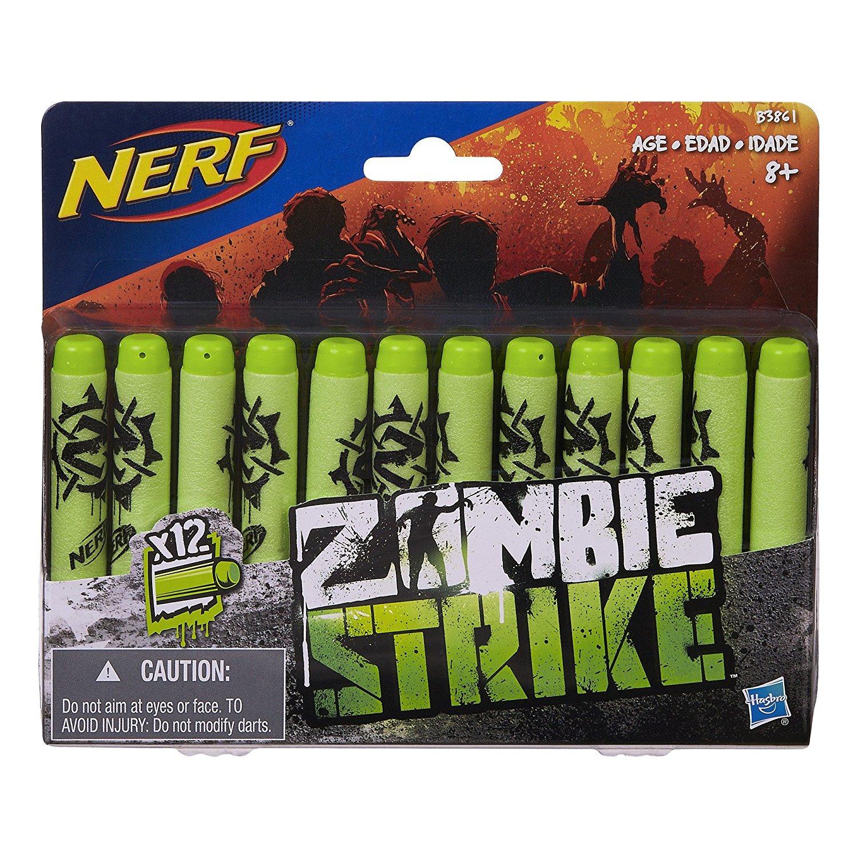Nerf Zombie Strike 12-Dart Refill Pack $1.81 Add-on Item Amazon