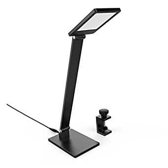 BESTEK LED Clamp Desk Lamp Touch Control  3 Levels and 2 in 1 Dimmable $16 @Amazon