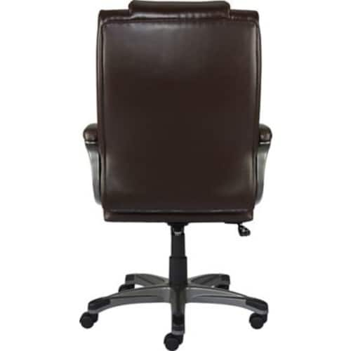 Staples Washburn Bonded Leather Office Chair, Brown $69.25