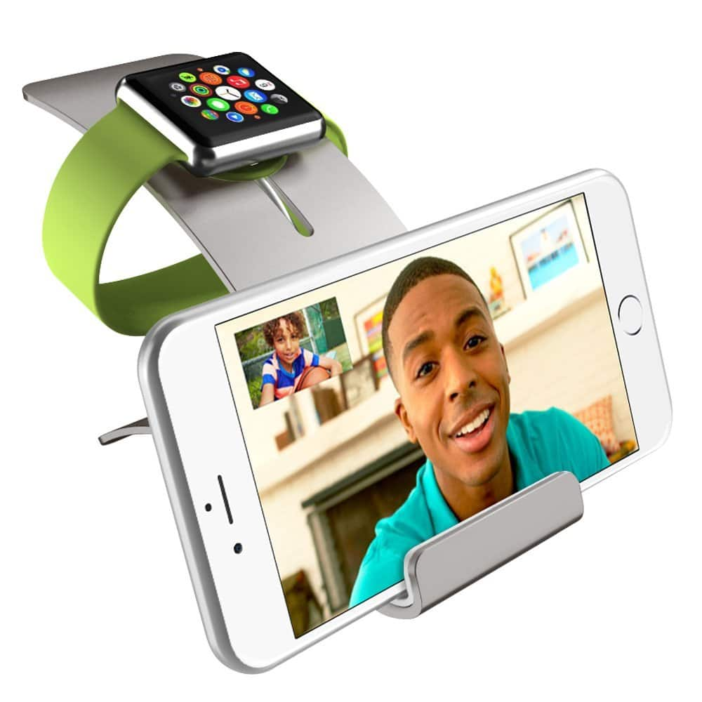 iVAPO Apple Watch & iPhone Stand - $7.19~$8.99  @Amazon