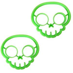 Icicle Silicone Skull Shaped Egg Mold for Breakfast 100% Food Grade Silicone $4.89-$6.99 AC @Amazon.com