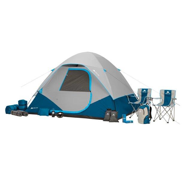 Ozark Trail 28-Piece Premium Camping Tent Combo $78 + Free Shipping @ Walmart