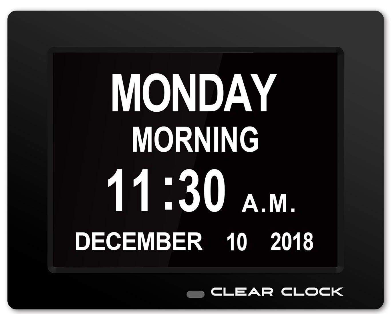 Clear Clock $34.99 + Free Shipping @ Amazon