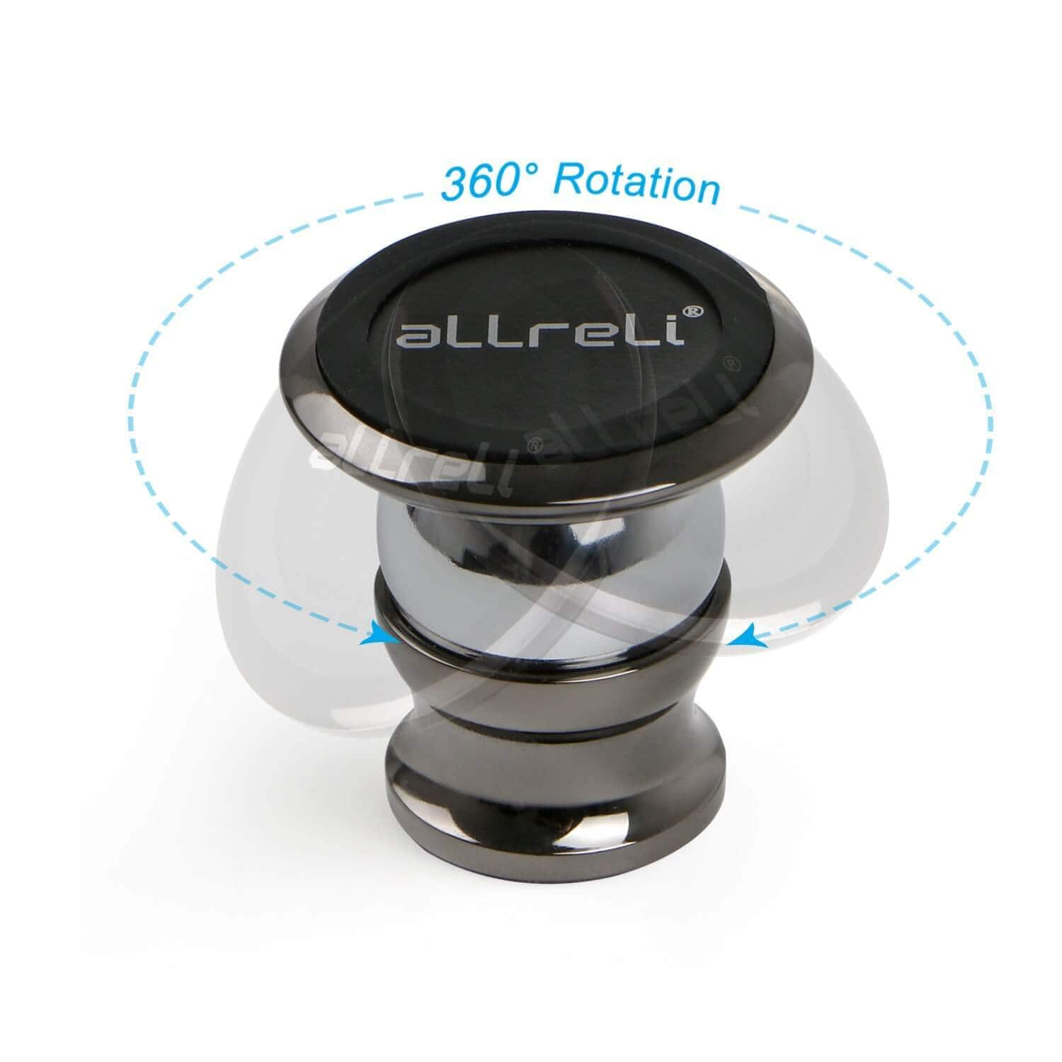 aLLreLi Universal Magnetic Car Cell Phone Mount $10.49 (30% off)