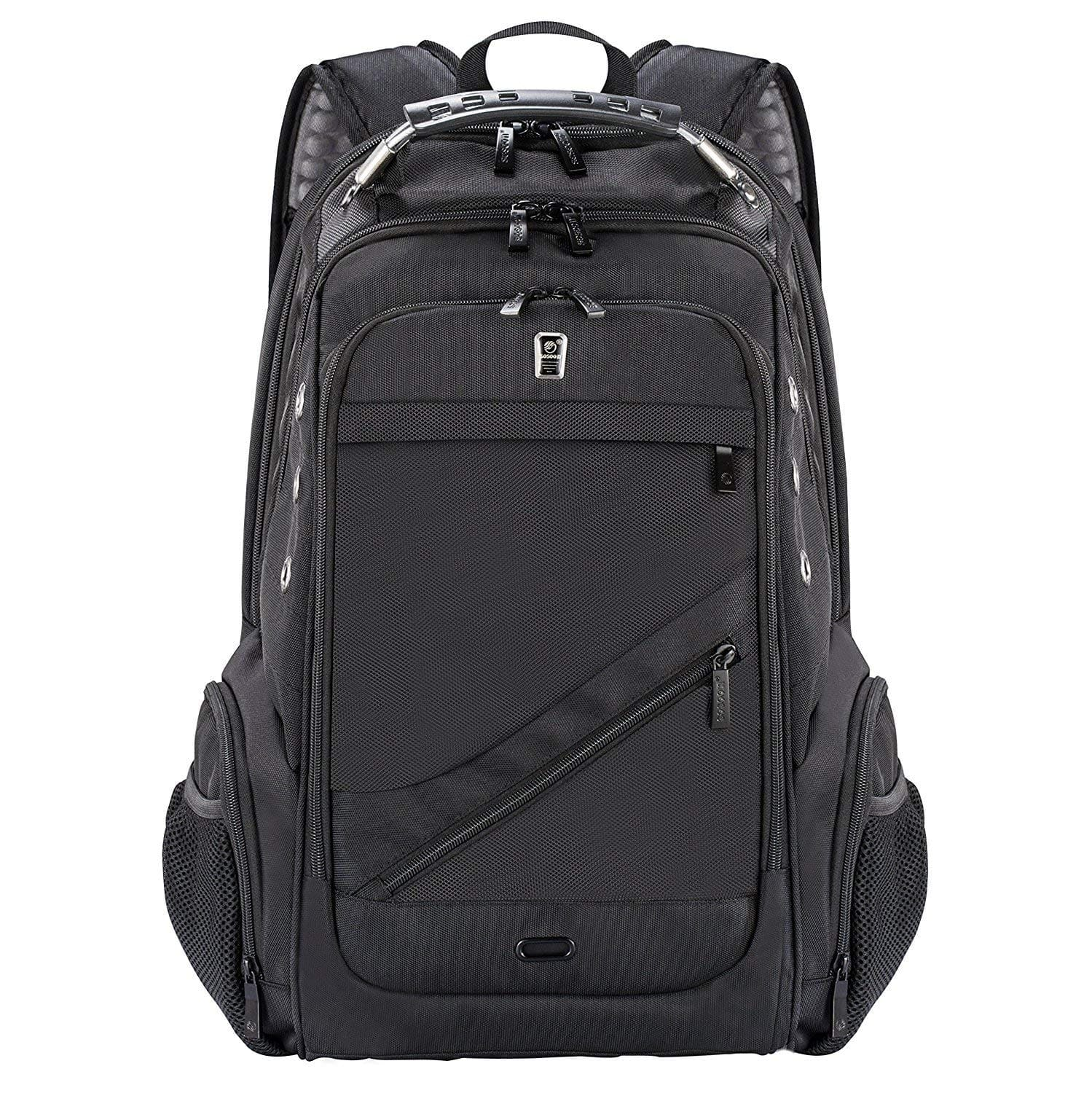 Laptop Backpack, Business Anti-Theft Travel Backpack with USB Charging Headphone Port $19.79