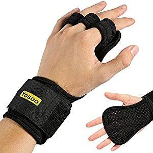 Men and Women - Pull Up Gloves with Padding to Avoid Calluses for $8.50@ Amazon w/FS