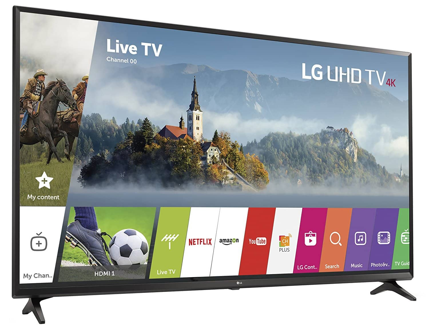 LG 43 inch 4K LED HDR Smart TV - 43UJ6300 (DELL) Includes 100$ Dell giftcard $329.99