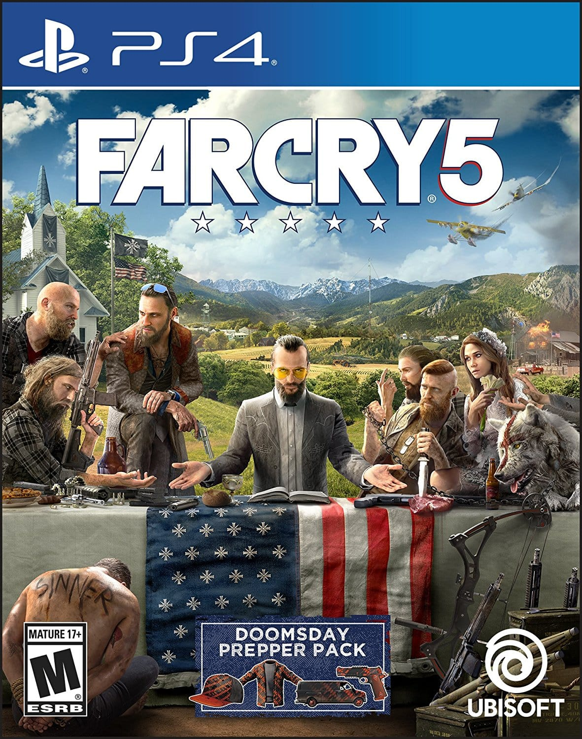 Far Cry 5 - PlayStation 4 Standard Edition [Disc, Standard, PlayStation 4] $39.99