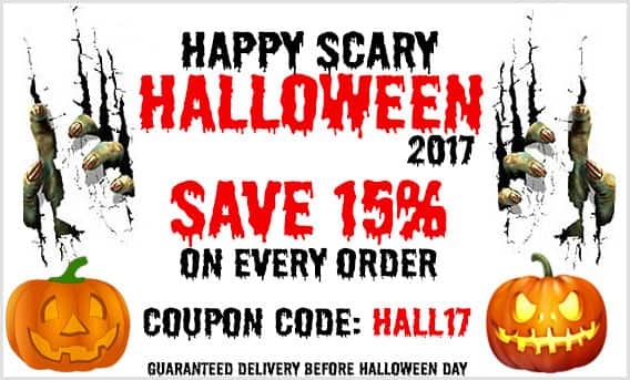HALL17 code on HALLOWEEN SPECIAL