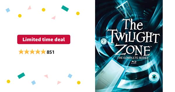 The Twilight Zone: The Complete Series (Blu-ray) $41.24 - $41.24