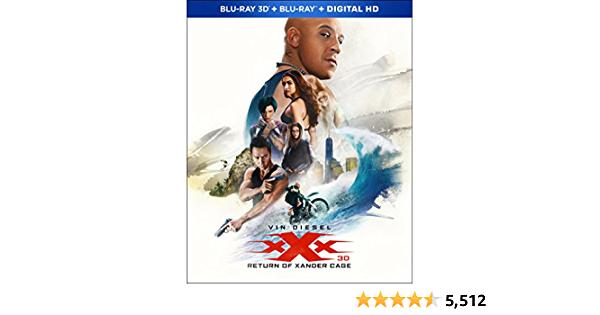 xXx: Return Of Xander Cage [Blu-ray 3D + Blu-ray + Digital] $11.98 - $11.98