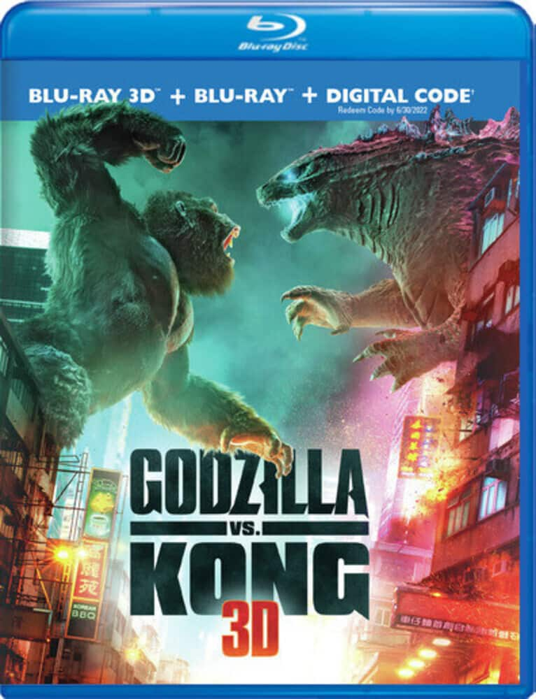 Godzilla vs. Kong [3D] [Blu-ray/Blu-ray 3D/Digital] $27.99 - $27.99